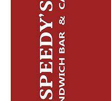BBC Sherlock Speedy's Cafe - Inspired Logo by Mutotoru