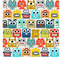 summer baby robots Photographic Print