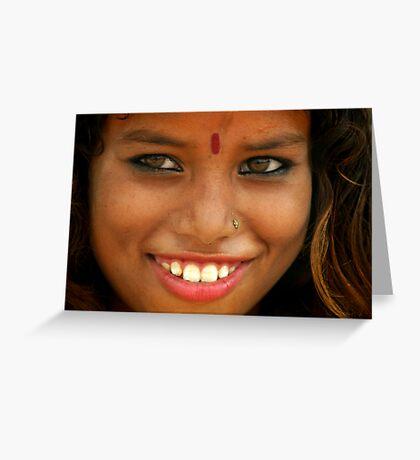Beautiful India Greeting Card