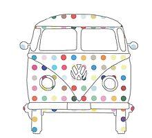 Camper Van with Spots by skatmando