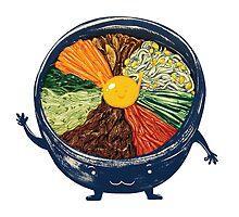 "Korean Mixed Rice - ""Bibimbab 비빔밥"" by jamesrotanson"
