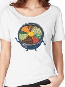 "Korean Mixed Rice - ""Bibimbab 비빔밥"" Women's Relaxed Fit T-Shirt"