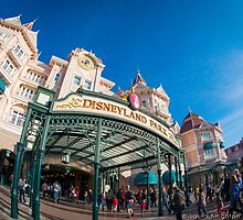 The Disneyland Hotel FishEye by ThatDisneyLover