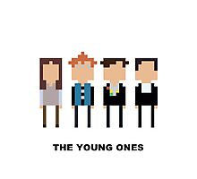 The Young Ones Mini-figure  Photographic Print