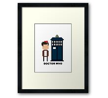 Dr Who Mini-figure  Framed Print
