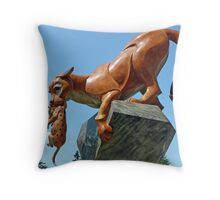 Cougar Mountain Throw Pillow