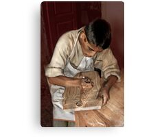 Woodworker Canvas Print
