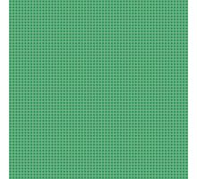 Green Grid - Pattern Photographic Print