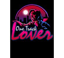 One track lover Photographic Print