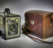 Kodak Six-20 Brownie by Keith G. Hawley