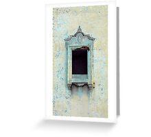Palais Window Greeting Card