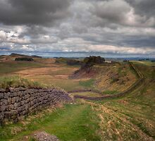 Hadrian's Wall by Chris Vincent