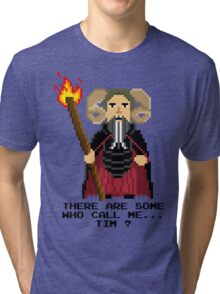 Tim the Enchanter - Monty Python and the Holy Pixel Tri-blend T-Shirt