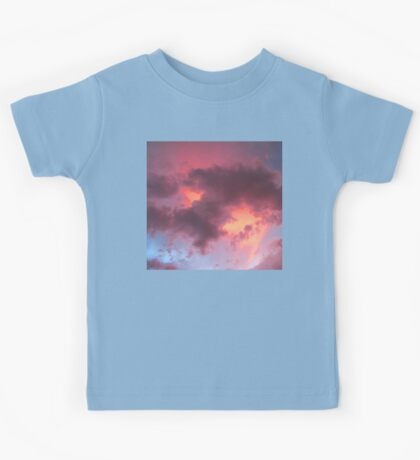Summer Monsoon Skyscape Kids Tee