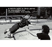 A Childs Trust Photographic Print