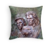 Siegfried & Roy Throw Pillow