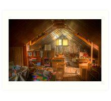 This old attic.... Art Print