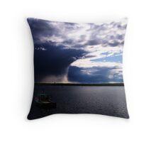 Cloud Wall Throw Pillow