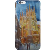 Ipod case Christmas in Canterbury iPhone Case/Skin