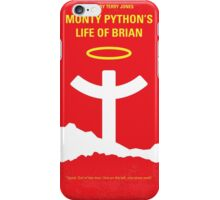 No182 My Monty Python Life of brian minimal movie poster iPhone Case/Skin