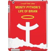 No182 My Monty Python Life of brian minimal movie poster iPad Case/Skin