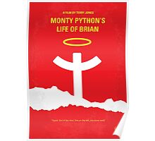 No182 My Monty Python Life of brian minimal movie poster Poster