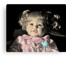 My Little Baby Doll Canvas Print