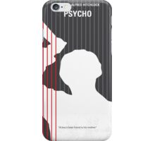No185 My Psycho minimal movie poster iPhone Case/Skin
