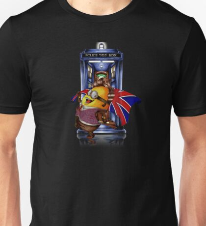 Doctor Cartoons Parody with england flag Unisex T-Shirt