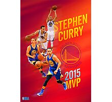 Stephen Curry 2015 MVP Print #1 Photographic Print