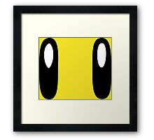 Super Mario Bros Star Framed Print