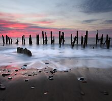 Spurn Head Beach by SteveMG