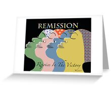 Remission Greeting Card