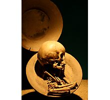 Infant Orb in Teotihuacan, Mexico.  Photographic Print