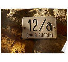 Puccini in Muggia Poster