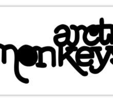 Arctic Monkey album cover  Sticker