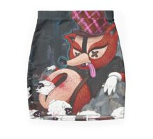 Out Foxed Mini Skirt