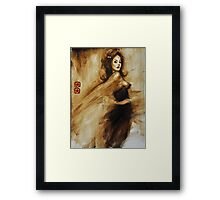 we'll dance forever and a day... Framed Print