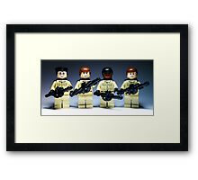 """Lets suck in the guts guys, we're the Ghostbusters"" Framed Print"