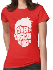 Sweet and Tender Hooligan (White Only) Womens Fitted T-Shirt