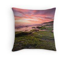 Burns Beach Sunset Throw Pillow