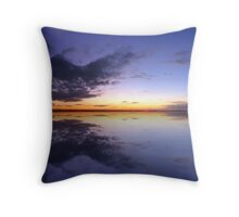 Nudgee Beach Throw Pillow