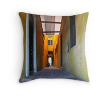 House in San Juan, Puerto Rico Throw Pillow