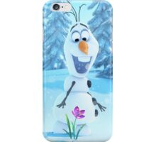 Frozen-Olaf Duvet Cover (All Sizes) iPhone Case/Skin