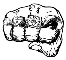 A fist full of dubs by JCLARTWORK