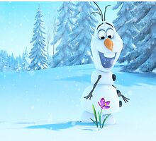Frozen-Olaf Duvet Cover (All Sizes) by TomsTops