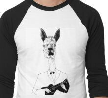 Johnny Buxton  Men's Baseball ¾ T-Shirt