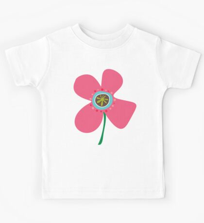 Pink Daisy Pop Kids Tee