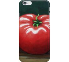 The Three Tomatoes - realistic still life food art iPhone Case/Skin