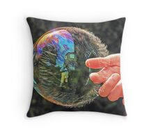 I'm Fading Fast - Breaking Up Throw Pillow